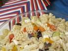 американский вермишелевый салат