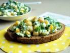 яичный салат с кукурузой фото
