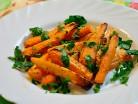 печеная морковь с апельсиновым соусом