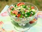 фитнес салат с геркулесом