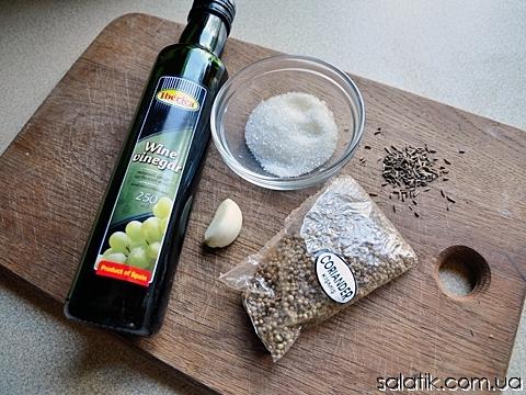 венский салат из огурцов пошагово