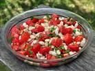фасолевый салат с ароматом розмарина