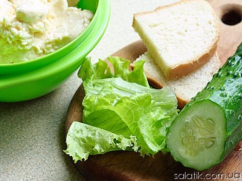 салат пасхальный с сыром