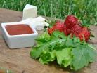 салат с сыром бри - продукты