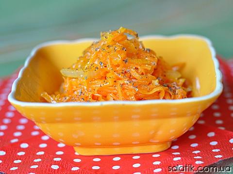 салат из тыквы по корейски