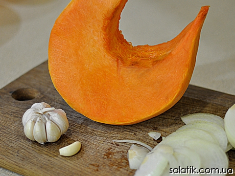 салатик из тыквы по-корейски - продукты