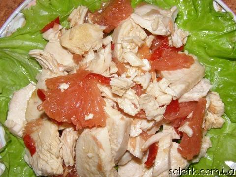 Салат из консервы горбуши