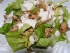 салат курица виноград листья салата ромен