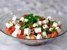 салат с помидорами брынзой и семечками