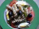 салат с тунцом и вермишелью