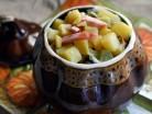 салат картофельный по селянски