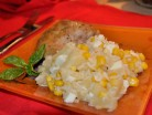 салат рисовый с ананасом