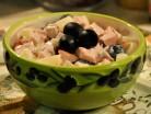 салат ветчина маслины