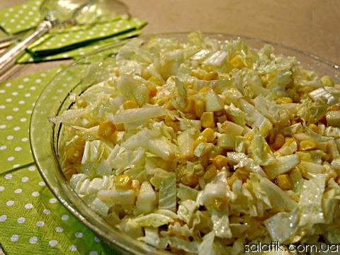 Салатики из пекинской капусты рецепты с фото