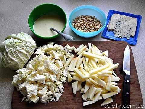 салат с савойской капустой пошагово фото
